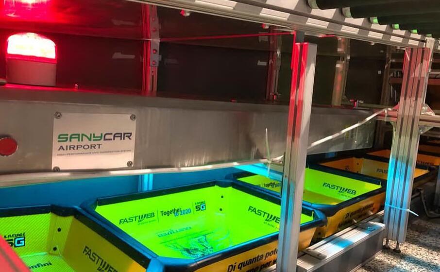 il nuovo macchinario a elmas (foto ufficio stampa)