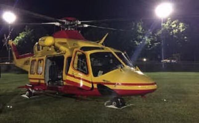 un elicottero del 118 (archivio l unione sarda)