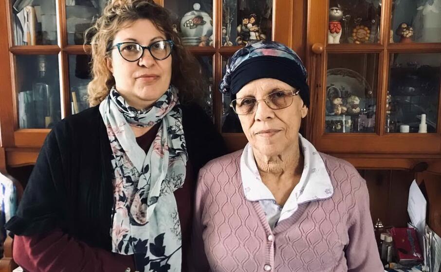 anna cambarau con la figlia patrizia bernardi (foto l unione sarda f m )