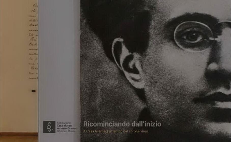 l immagine che accompagna la mostra (foto casa museo gramsci)