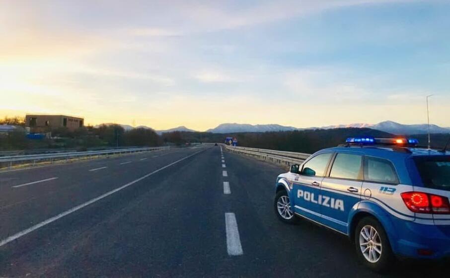 la stradale a fonni (dal profilo fb ufficiale)