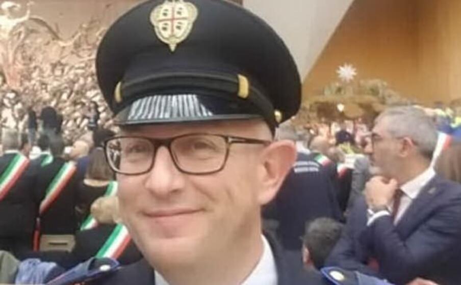 alessandro corrias nuovo comandante della polizia locale di villacidro (l unione sarda)