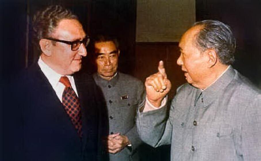 lo storico incontro con mao zedong