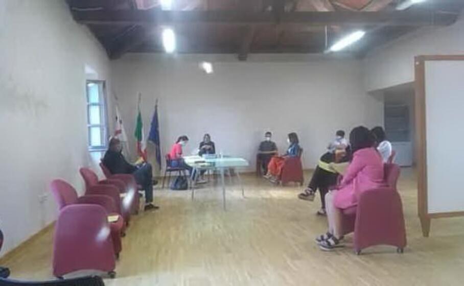 la riunione del consiglio comunale (foto l unione sarda sirigu)
