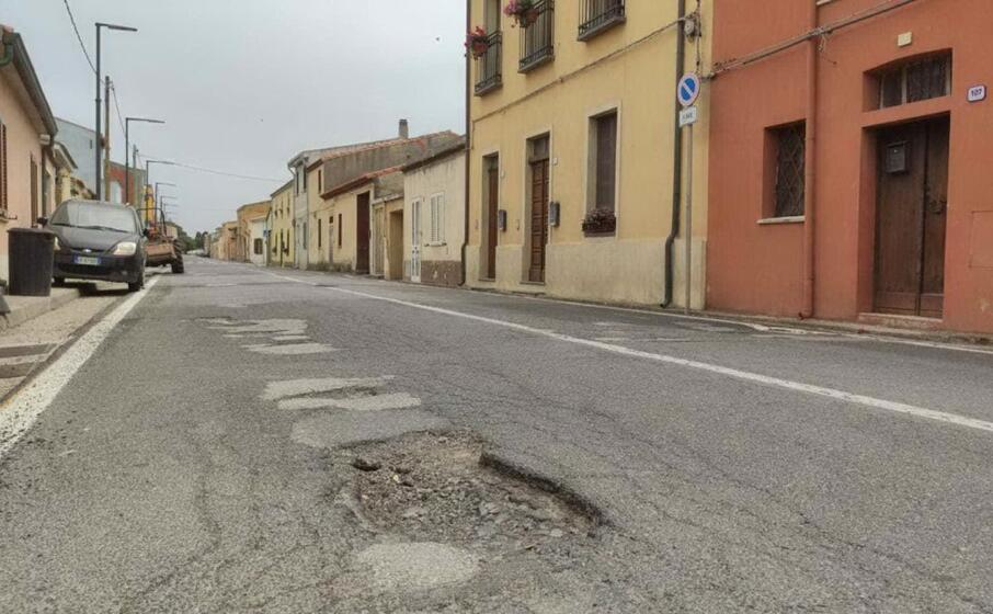 la strada a nurachi (l unione sarda)