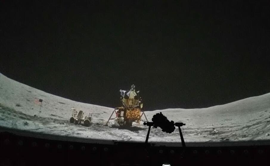uno spettacolo del planetario l unione sarda