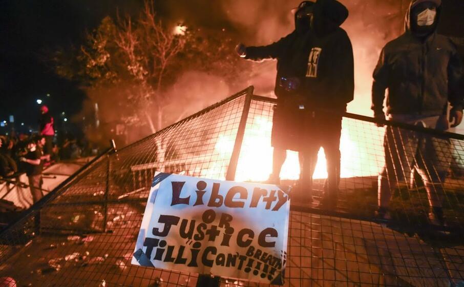 altre proteste a minneapolis (ansa lassig)