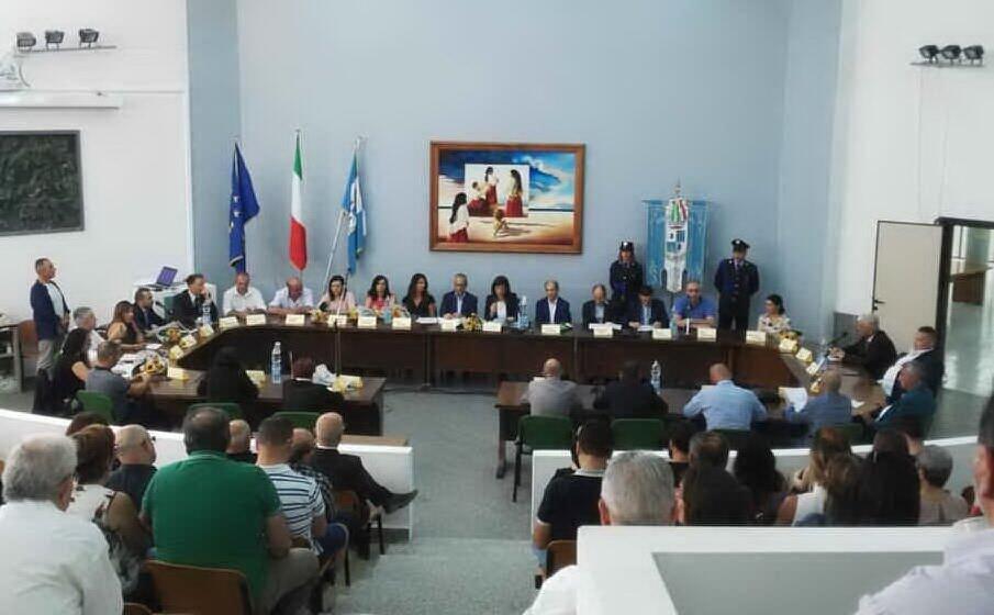 il consiglio comunale di sinnai (foto l unione sarda andrea serreli)