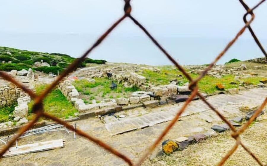 il sito archeologico di tharros (foto l unione sarda pinna)