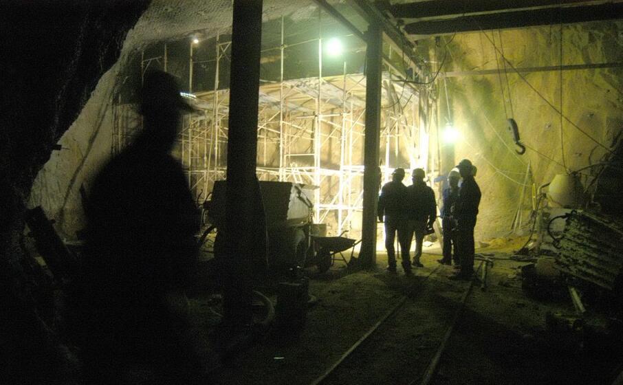 la miniera di monteponi (archivio l unione sarda)