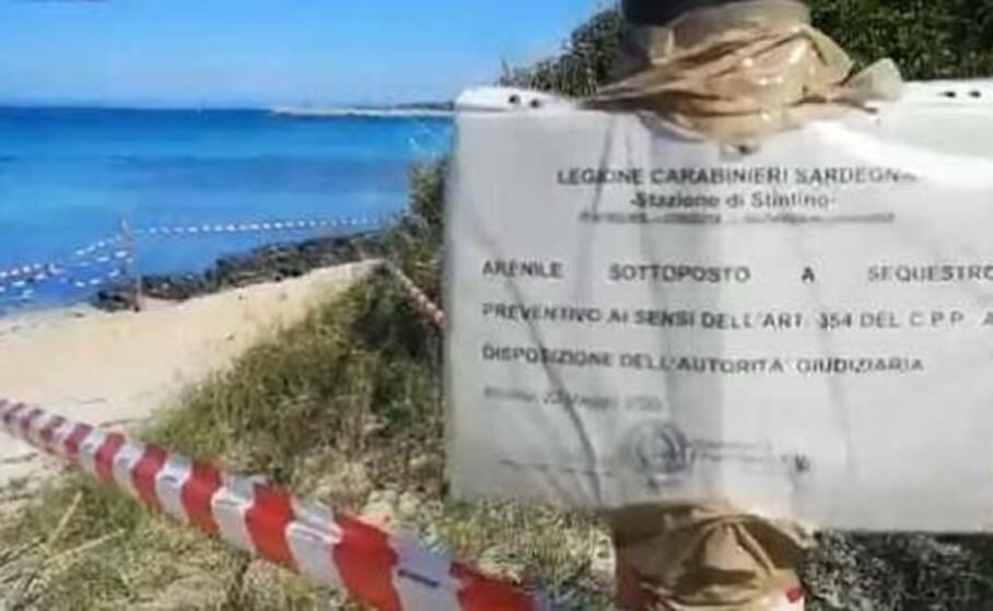 la spiaggia il gabbiano (l unione sarda pala)