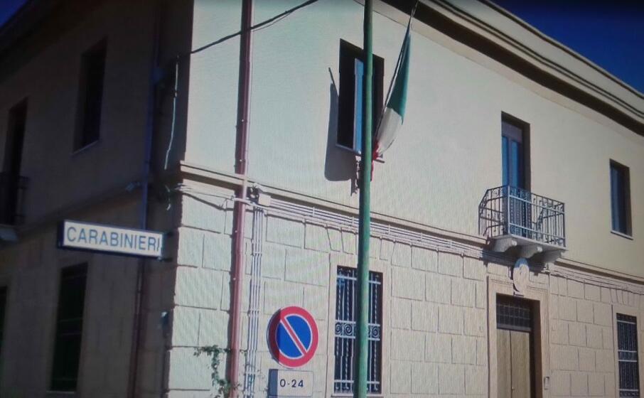 la stazione carabinieri di narcao (l unione sarda scano)