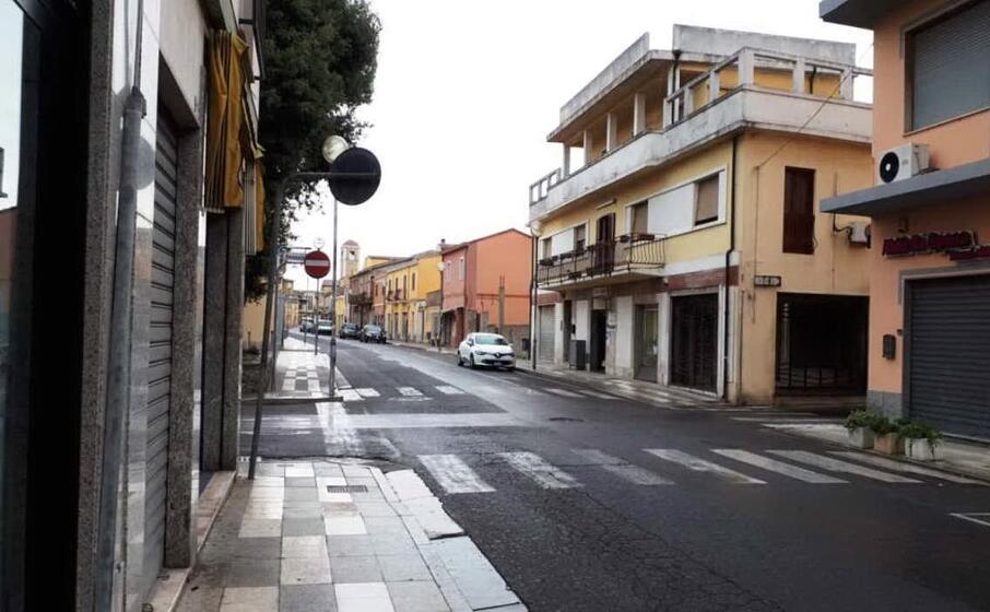 via roma a san gavino (l unione sarda pittau)