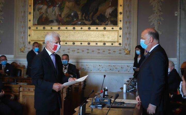 nell occasione sono state consegnate le onorificenze assegnate dal capo dello stato