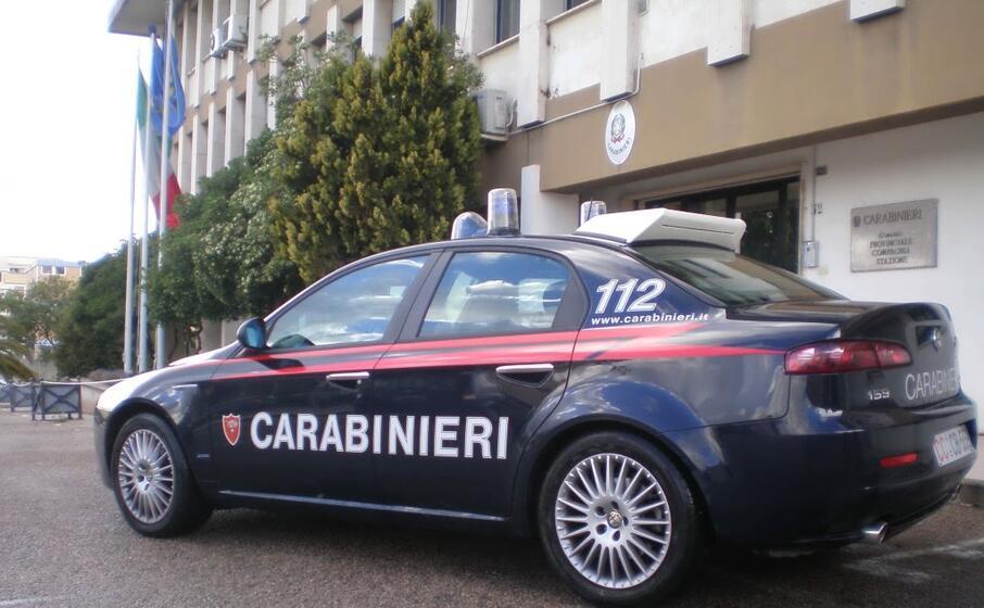 una pattuglia (foto carabinieri)