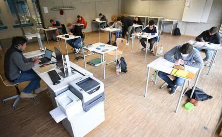 una scuola tedesca (ansa)