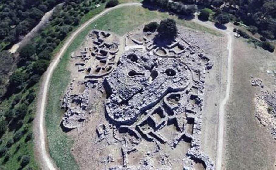 il parco archeologico genna maria (foto l unione sarda)