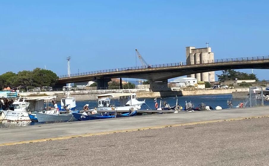 il ponte di sant antioco (foto l unione sarda scano)
