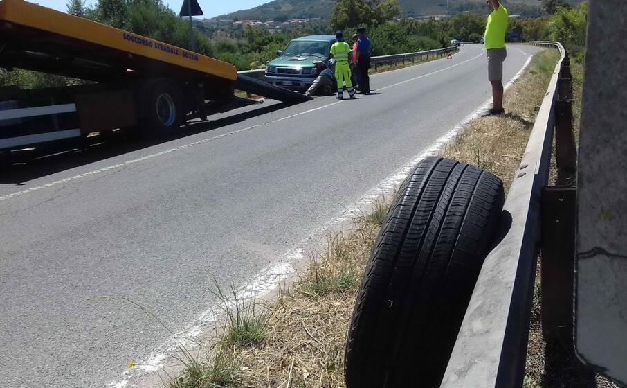 l incidente sulla statale (l unione sarda scano)