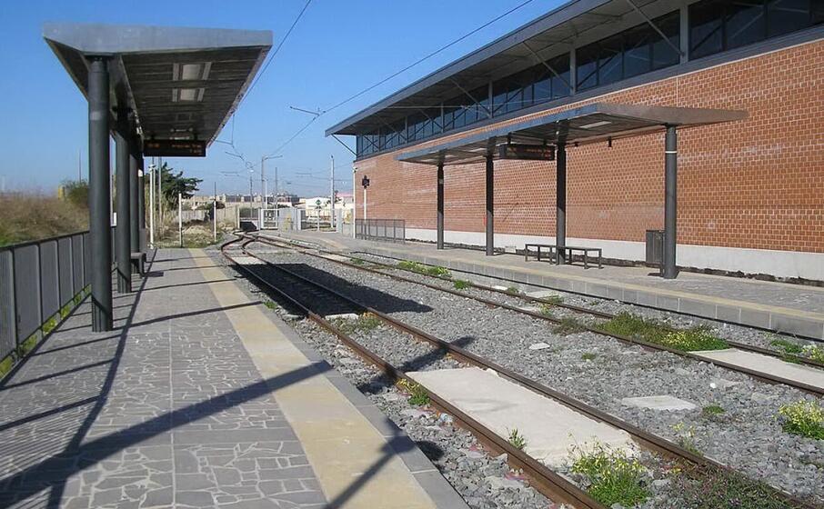 la fermata san gottardo a monserrato (foto wikimedia commons)