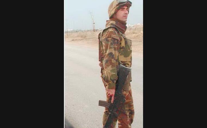 un soldato della brigata sassari