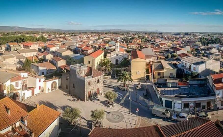il centro storico di arcidano (foto sanna)