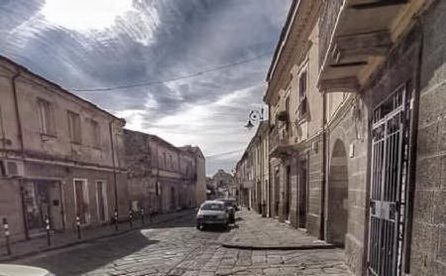 una delle strade centrali di ittiri (l unione sarda tellini)