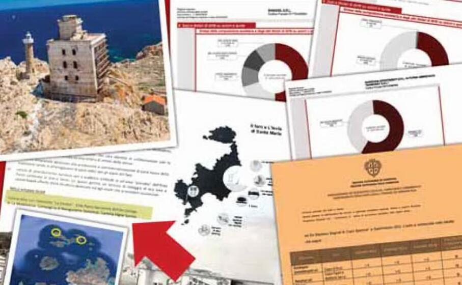 il faro di razzoli e alcuni documenti (l unione sarda)