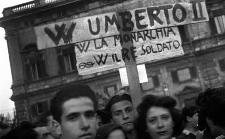 sostenitori della monarchia nel 1946