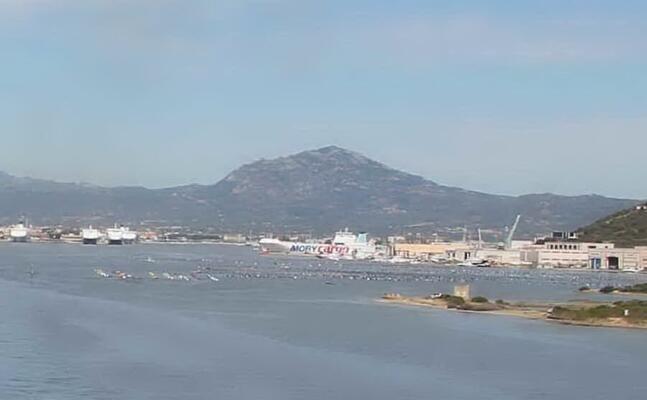 il porto di olbia (archivio l unione sarda)