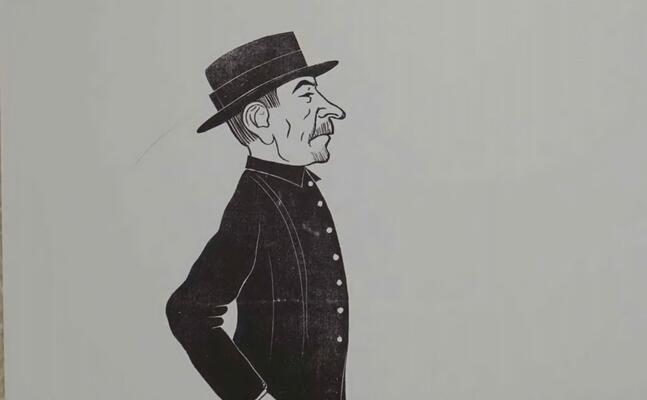 una delle vignette (l unione sarda)