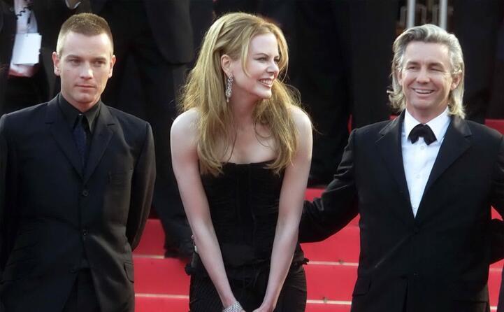 con l attore ewan mcgregor e il regista baz luhrmann ai tempi di moulin rouge