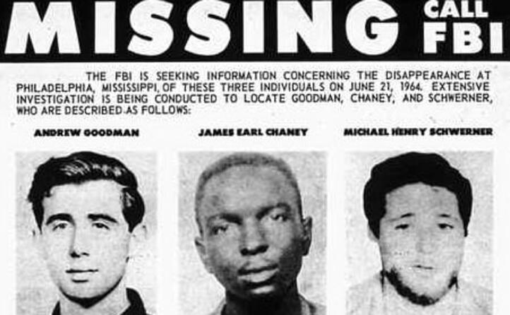 accaddeoggi 21 giugno 1964 l omicidio di tre attivisti nel mississippi