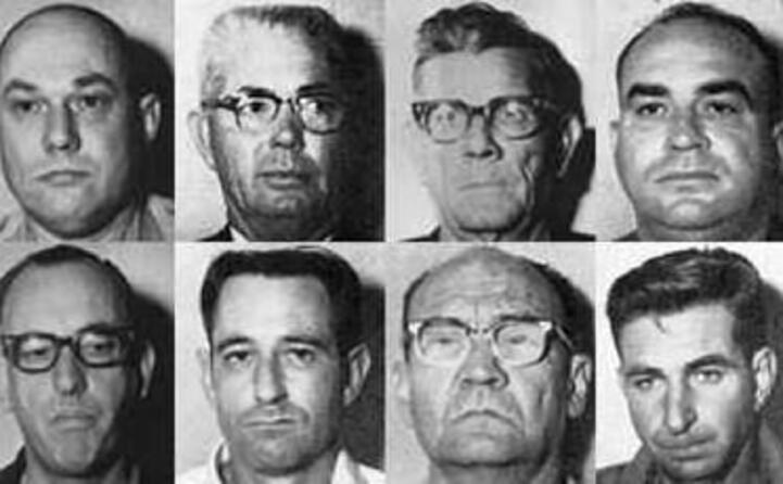 alcuni degli accusati per gli omicidi