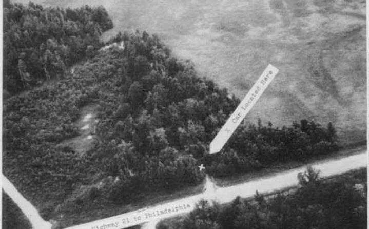 il posto dove fu trovata l auto dei tre sostenitori dei diritti degli afroamericani uccisi dal ku klux klan