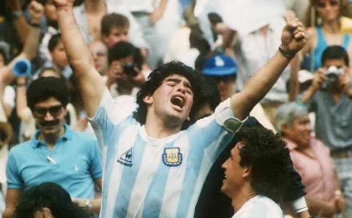 accaddeoggi 22 giugno 1986 maradona segna il gol con la mano di dio