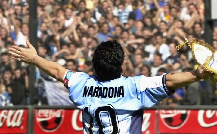 il calciatore argentino stava disputando in messico il match mondiale contro l inghilterra