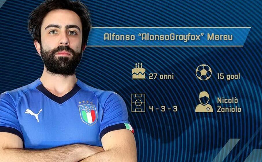 alfonso mereu campione europeo del videogioco del calcio (foto ufficio stampa)