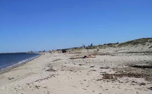il litorale di abarossa (foto pinna)