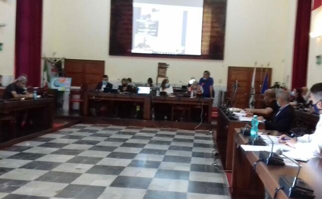 un momento del consiglio comunale (foto l unione sarda scano)