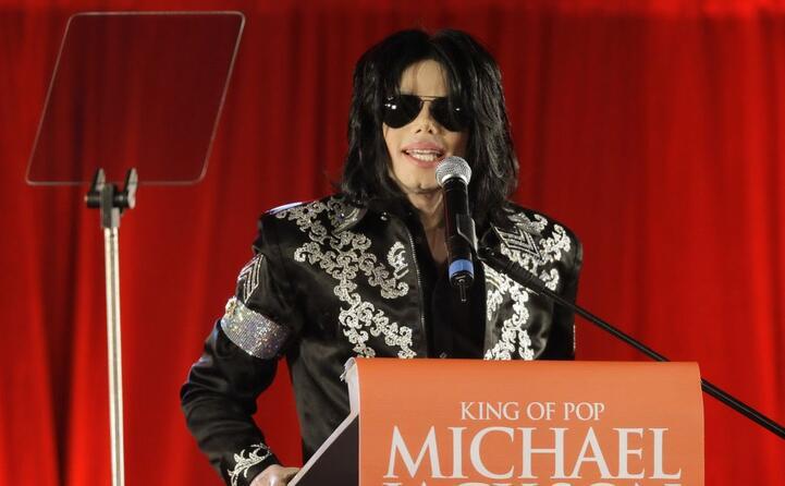 una conferenza stampa nel 2009