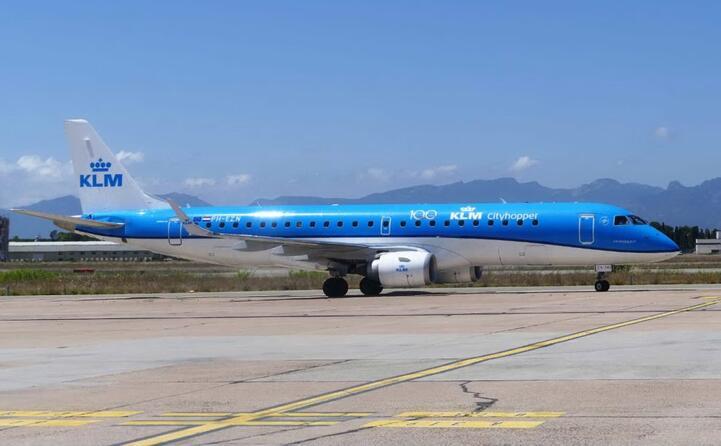 il volo klm (foto ufficio stampa sogaer)