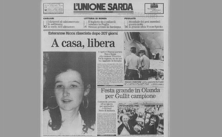 la notizia della liberazione