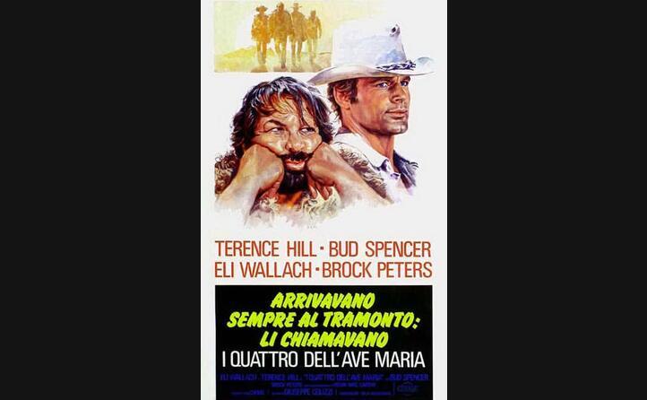 la locandina di uno dei tanti film in cui ha recitato con terence hill