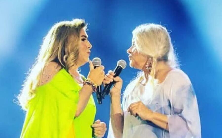 romina e taryn in una foto di a kubica postata dalla cantante su instagram