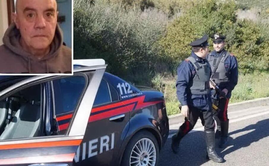 carabinieri (archivio l unione sarda) nel riquadro antonio pireddu (dai social)