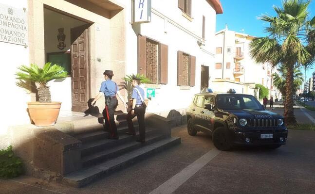 i carabinieri di carbonia (foto a scano)