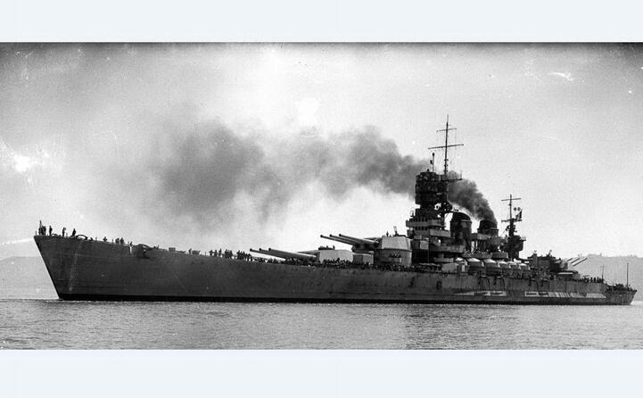 la corazzata roma (foto marina militare)