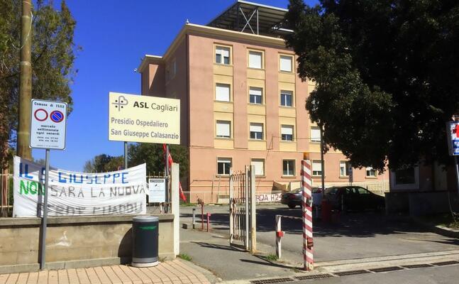 l ospedale san giuseppe (archivio l unione sarda)