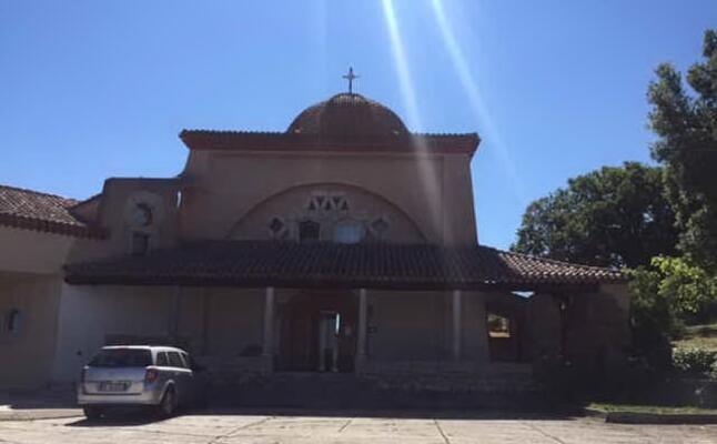 la chiesa del convento delle carmelitane scalze nel colle di cuccullio a nuoro (l unione sarda orunesu)